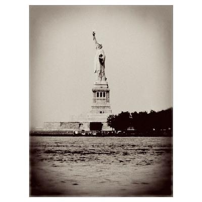 Vintage Liberty Wall Art Poster
