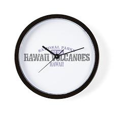 Hawaii Volcanoes Nat Park Wall Clock