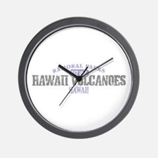 Hawaii Volcanoes Nat Park Wall Clock