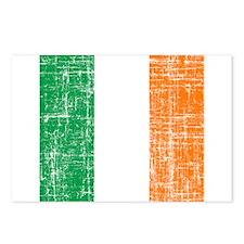 Vintage Irish Flag Postcards (Package of 8)