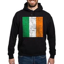 Vintage Irish Flag Hoody