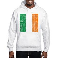 Vintage Irish Flag Hoodie