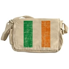 Vintage Irish Flag Messenger Bag