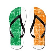Vintage Irish Flag Flip Flops