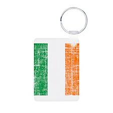 Vintage Irish Flag Keychains