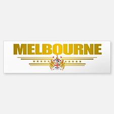 """""""Melbourne COA"""" Bumper Bumper Sticker"""