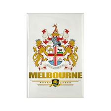 """Melbourne COA"" Rectangle Magnet"