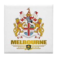 """""""Melbourne COA"""" Tile Coaster"""