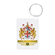 """Melbourne COA"" Keychains"