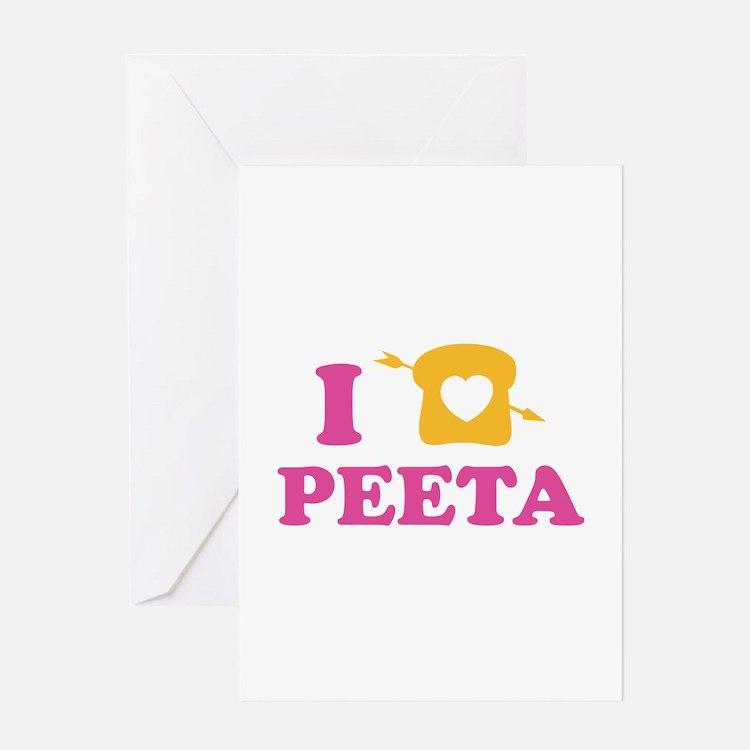 HG Peeta Greeting Card