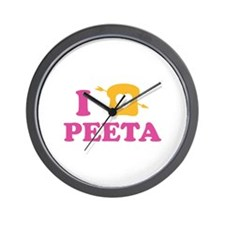 HG Peeta Wall Clock