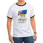 Australia Kangaroo Ringer T