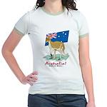 Australia Kangaroo Jr. Ringer T-Shirt