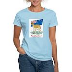 Australia Kangaroo Women's Pink T-Shirt
