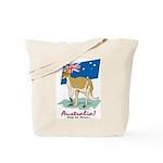 Australia Kangaroo Tote Bag