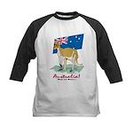Australia Kangaroo Kids Baseball Jersey