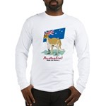 Australia Kangaroo Long Sleeve T-Shirt