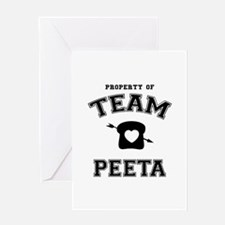 HG Team Peeta Greeting Card