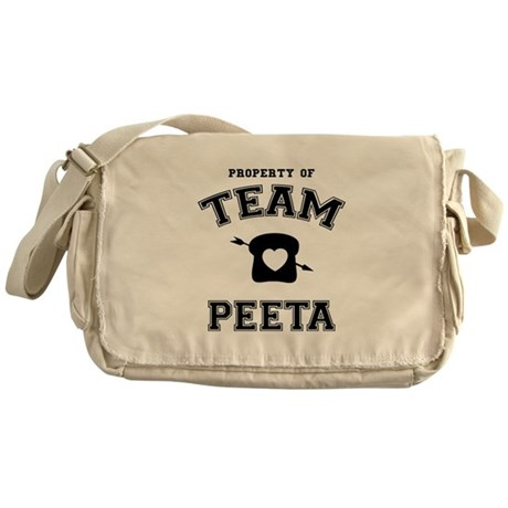 HG Team Peeta Messenger Bag
