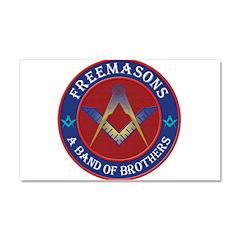 Australian Free Masons Car Magnet 20 x 12