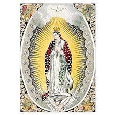 Cute Our lady guadalupe Wall Art