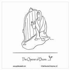 The Opener of Doors Wall Art Poster