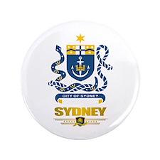 """Sydney Australia"" 3.5"" Button"