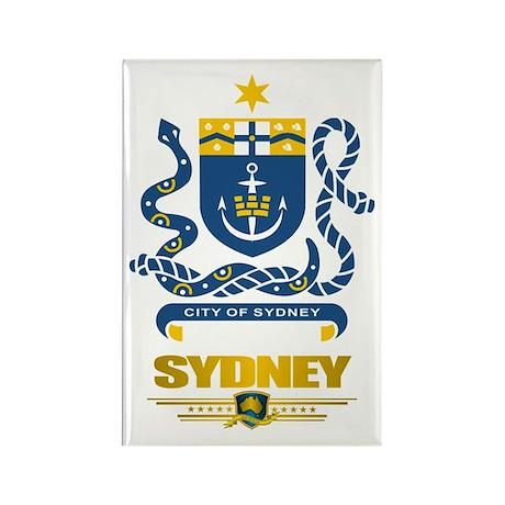 """Sydney Australia"" Rectangle Magnet"