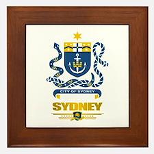 """""""Sydney Australia"""" Framed Tile"""