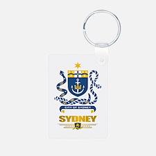 """""""Sydney Australia"""" Keychains"""