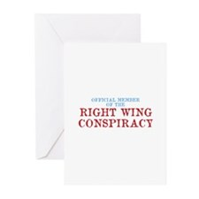 OFFICIAL MEMBER OF THE RIGHT Greeting Cards (Pk of