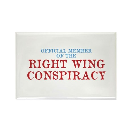 OFFICIAL MEMBER OF THE RIGHT Rectangle Magnet (10