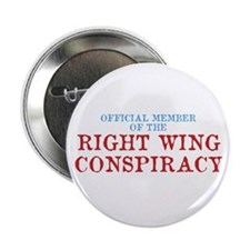 "OFFICIAL MEMBER OF THE RIGHT 2.25"" Button (10 pack"