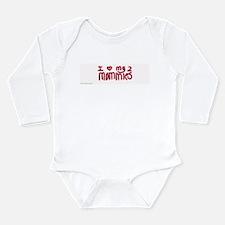 Cute Two mommies Long Sleeve Infant Bodysuit