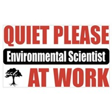 Environmental Scientist Work Wall Art Poster