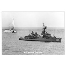 USS POWER Wall Art Canvas Art