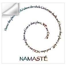 Meaning of Namaste Wall Art Wall Decal
