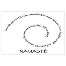 Meaning of Namaste Wall Art