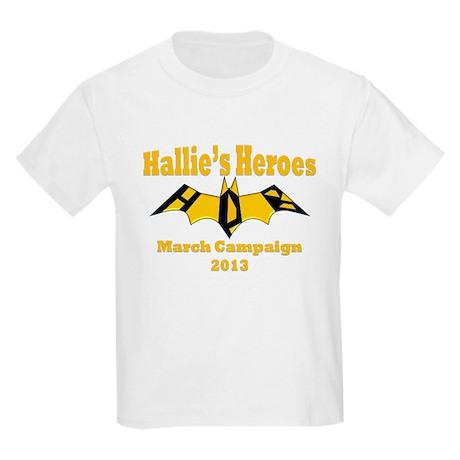 Hallie's Kids March Campaign Bgirl Light T-Shirt