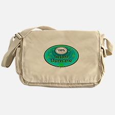 100 PERCENT IRISH DANCER Messenger Bag