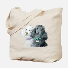 Two Poodles Tote Bag