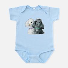 Two Poodles Infant Bodysuit