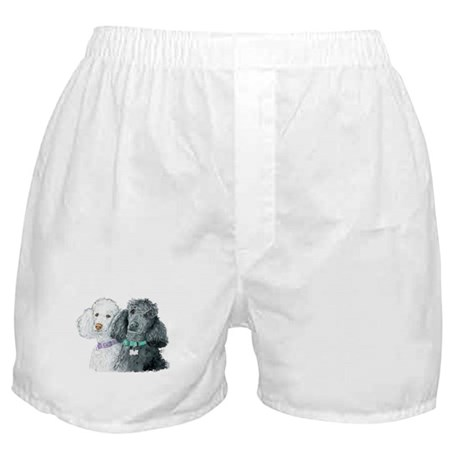 Two Poodles Boxer Shorts