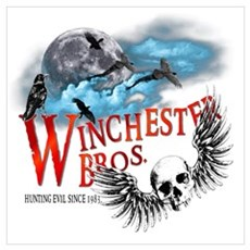 Winchester Bros Hunting Evil Wall Art Poster