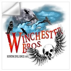 Winchester Bros Hunting Evil Wall Art Wall Decal
