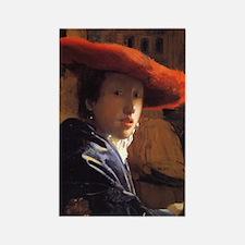 Vermeer Rectangle Magnet