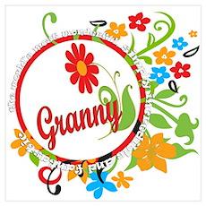 Wonderful Granny Wall Art Poster