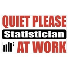 Statistician Work Wall Art Poster