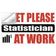 Statistician Work Wall Art Wall Decal