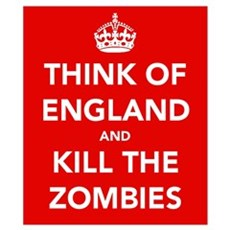 Think Of England.... Wall Art Poster